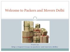 the organizations can aid workers by getting them in touch with some professional property brokers, reimbursing the cost of home hunting and also provide a home hunting trip for both the staff member and the spouse.\n\nPackers and Movers in Delhi @ http://topservice4u.in/packers-and-movers-delhi/  #youtube #moversandpackers #packersandmovers #topservice4u