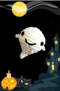 Ghost amigurumi