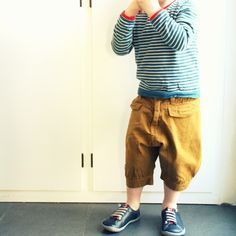 .Pants so cute!