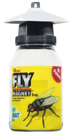 Victor M380 Fly Magnet 1-Quart Reusable Trap With Bait
