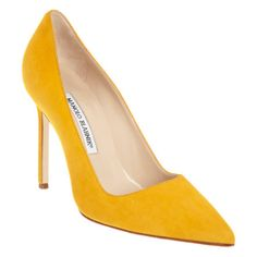 Manolo Blahnik Suede BB at Barneys.com......it's broken my heart