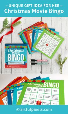 Enjoy this stocking stuffer edition of Christmas Movie Bingo while watching cheesy, romantic Christmas movie marathons! Romantic Christmas Movies, Hallmark Christmas Movies, Holiday Movie, Christmas Bingo Game, Holiday Party Games, Christmas Holidays, Christmas Stuff, Holiday Gift Guide, Christmas Traditions