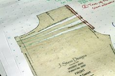 J. Stern Designs: How to Raise the Rise on your Jeans Pattern