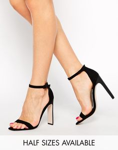 """ASOS HAMPTON Heeled Sandals - If I wouldn't kill myself on 4.5"""" heels, I would totally buy these. Totally. :)"""