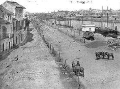 Calle Betis, 1900.