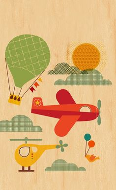 Planes & helicopter #cute iPhone wallpaper- @mobile9