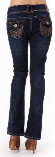 WallFlower Juniors Vintage Collection Luscious Curvy Bootcut Jeans - http://cheune.com/a/24651595437899233