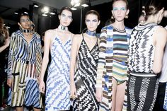 Missoni heads around the world for inspiration, drawing on Africa and South Africa for prints.