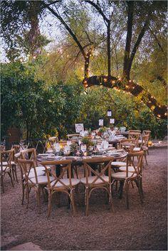 outdoor wedding reception #outdoorreception @weddingchicks
