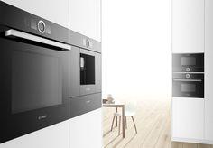 Introducing the New Bosch Series 8 Kitchen Range Braun Appliances, Built In Kitchen Appliances, Home Appliances, Appliance Repair, Outdoor Kitchen Design, Outdoor Kitchens, Ovens, New Kitchen, Kitchen Stuff
