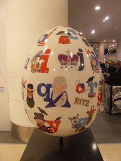 80 – The Alpha Egg Of  London – Joanne Holbrook