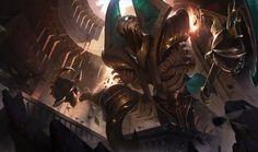 Risen Fiddlesticks.   League of Legends
