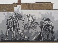 A newly minted mural in downtown Stevens Point, WI by Alexander Landerman. a-not-so-still-life.com