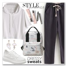 """""""Comfort is Key: Sweatpants (Sporty Style)"""" by jecakns ❤ liked on Polyvore"""
