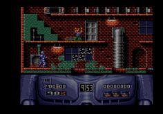 Robocop 2 (Ocean, 1991). Platformer / shooter.