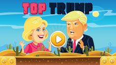 [xpost from /r/WebGames] TOP TRUMP - Help Hillary blast her way to the White House in this puzzle shooter!