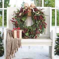 Cordless Winter Garden Wreath Cordless Winter Garden Wreath (66592) Was $139.00 Now $119.00 3.2 out of 5 13 reviews | Write a review |  Questions & Answers  Our Cordless Winter Garden Collection offers a most welcoming glow with minimal effort, and it's designed for display outdoors (but it can come inside, ...