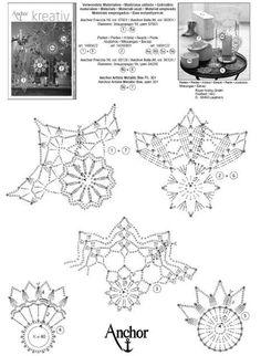 Crochet - Her Crochet Crochet Snowflake Pattern, Christmas Crochet Patterns, Crochet Snowflakes, Crochet Doily Patterns, Crochet Doilies, Crochet Angels, Crochet Stars, Thread Crochet, Snowflake Craft