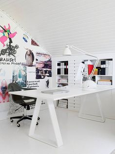 beautiful office space! (workspace by the style files, via Flickr)