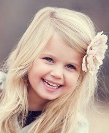 The beauty of a child . . .