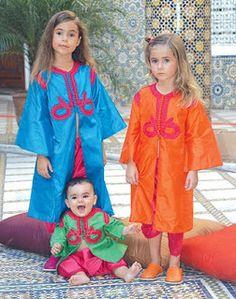 Vestimenta tradicional de Marruecos: Para Niños o Niñas: