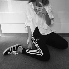 the latest 496fe d49be Adidas Outfit, Ootds, Summer Wear, Play Dress, Playing Dress Up, Jeans
