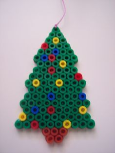 Christmas tree hama beads by Juan José Prieto
