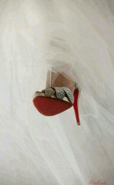 Wedding..I Do! In Luxurious Louboutin Shoes...~LadyLuxury~