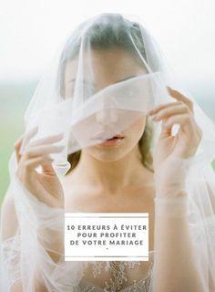 Erreurs à eviter pour profiter de votre mariage