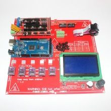3D Printer Kit for Arduino Mega 2560 R3 + Heated Bed MK2B + RAMPS 1.4 Controller + LCD 12864 + 5x DRV8825 Stepper Driver Module(China (Mainland))