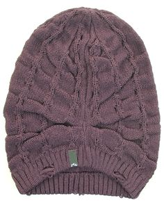 8ee66a139ef6d Inseption - Hurley - Mens - Otto Beanie - Black Currant
