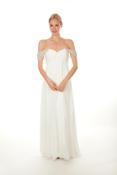 Nicole Miller - Spring 2013. You can wear on or off the shoulder.