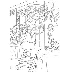 dark frog coloring pages - photo#14