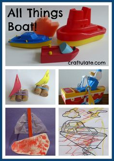 All Things Boat! - art, crafts and activities for kids