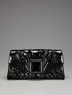 Judith Leiber Madeleine Crocodile Clutch.  Gorgeous!  Give me $4,769 & I'll but it!