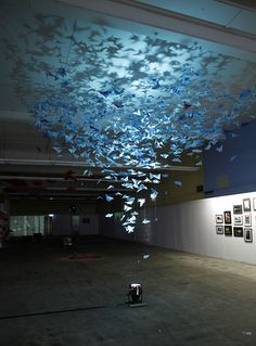 Peel Your Eyes – Beautiful Butterfly Installation