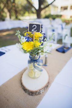 Navy & Yellow Rustic DIY Lakeland Wedding - Rocking H Ranch - Lakeland Wedding Photographer Vitalic Photo (32)