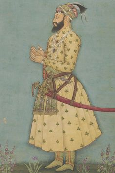 Prince Muhammad Sultan son of Aurangzeb Alamgir I Mughal Paintings, Islamic Paintings, Indian Paintings, King Of India, Prabhas Pics, Mughal Empire, Historical Women, Traditional Paintings, Old Art