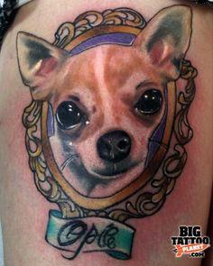 Chihuahua Tattoo Designs - Quoteko.com