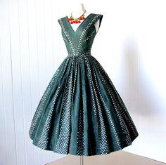vintage 1950's dress fabulous ANNE FOGARTY