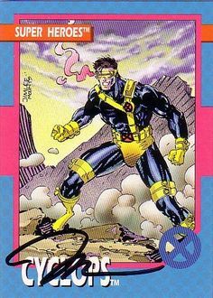 Cyclops signed by Jim Lee