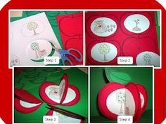 Johnny Appleseed apple craft - you can put their target sounds inside and send them home to practice! Apple Activities, Autumn Activities, Classroom Activities, Book Activities, Classroom Ideas, Nature Activities, Classroom Crafts, Toddler Activities, Apple Life Cycle
