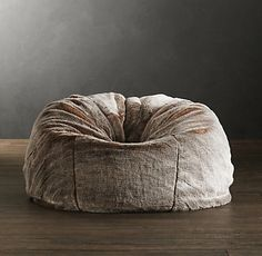 Exceptional I Would Never Get Up From This Thing! Luxe Faux Fur Bean Bags | Restoration Design Ideas