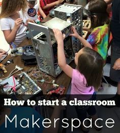 Curious about classroom Makerspaces? Here's how to get started --Cheryl Nelson and Wendy Goldfein of Get Caught Engineering share how they manage their makerspaces in the elementary and middle school levels.