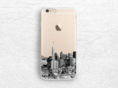 San Francisco City View iPhone 7 transparent case, Skyline photo phone case for LG G5 G4, Nexus 5x, Sony Z5, Nexus 6P, Samsung S7 Edge -A35