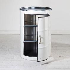 Simple Schr nk Der Schrank aus einem lf ss Dieser lfassschrank ist erweiterbar zur Hausbar aus lf ssern made in Hamburg lockengel t onlineshop