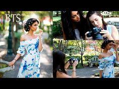 Natural Light Portrait Photoshoot, BTS, Romantic and Feminine - YouTube