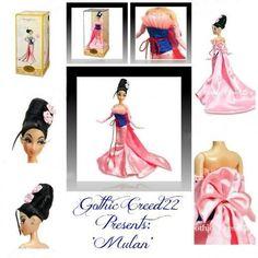 MULAN Designer Disney Store Princess Doll LE #4259/6000 Limited Edition NEW Box! #Disney