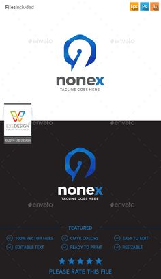 Logo Template 100 Re-sizable vector 100 Editable text Easily customizable colors AI & EPS documents For any modification do not Best Logo Design, Graphic Design, Design Logos, Logo Design Template, Logo Templates, Information Graphics, Photoshop Photos, Animal Logo, Logo Color