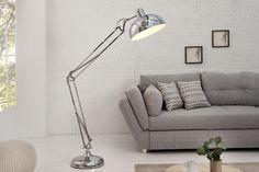 Lampa podłogowa Loft chrom 180cm - ARCHIZONA - Lampy podłogowe